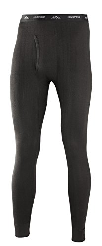 ColdPruf Men's Enthusiast Single Layer Bottom, Black, Medium 97BMDBK