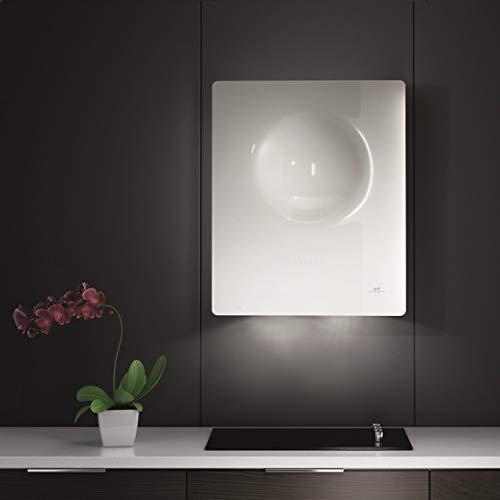 GALVAMET/SPHERA 65/F * EEK A* / 65 cm/Kopf-freie Dunstabzugshaube/Glas/ECO LED / (WHITE/WEIß)