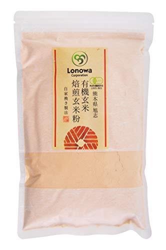 ろのわ 有機焙煎玄米粉 300g