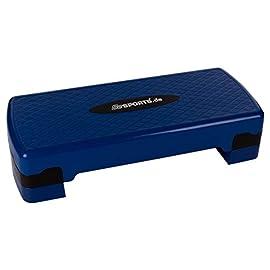 Woniu Aerobica Stepper Step Board Piccola Pedana Aerobica Step Altezza Regolabile 3 Livelli Step Aerobico per Casa E Palestra,Rosa