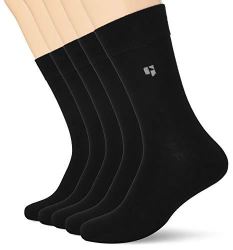 Garcia Herren Z1052 Socken, Schwarz (black 60), 40/46 (Herstellergröße: 40-46) (5er Pack)