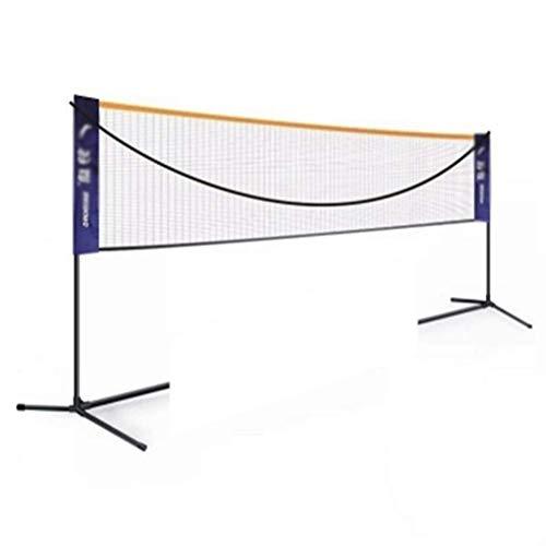 YXZQ Badminton-Netz, Volleyball-Netz Tennis-Netz Einfache Einrichtung Sportnetz Mobiles Rack, höhenverstellbar, faltbar, für Parkplätze im Freien und so weiter3.1M