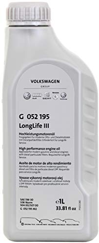 Volkswagen VW Ersatzteile Longlife III Motoröl (5W30), 1 Liter