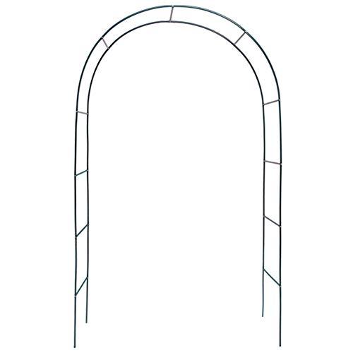 GYX-Décoration Arco De Jardín, Soporte De Flores Pared Exterior De Jardín Arqueado, Soporte De Crecimiento De Árboles De Plantas Trepadoras, Utilizado En Jardines, Céspedes