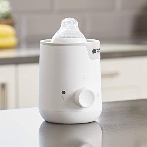 New, Modern Design- Tommee Tippee Easi-Warm Bottle & Food Warmer, White