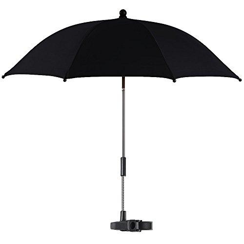 reer 72144.5 - Sonnenschirm de Luxe mit UV-Schutz, schwarz