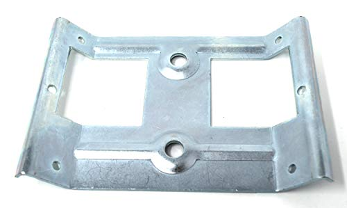 Design61 Juego de 4 herrajes angulares para patas de mesa (acero galvanizado, 165 x 110 mm)