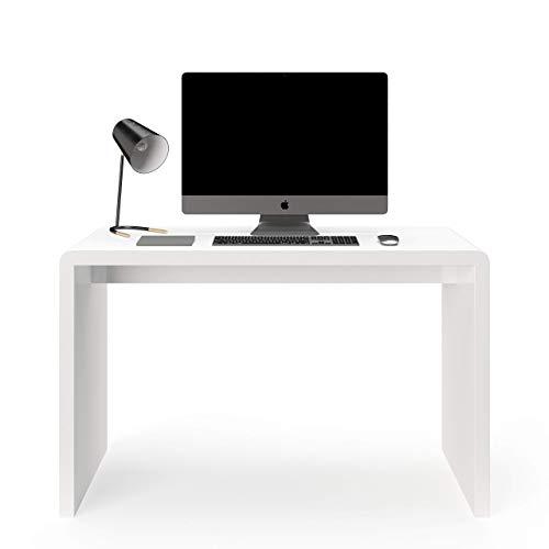 Amazon Marke - Movian Schreibtisch, weiß, 120 x 78.5 x 50 cm
