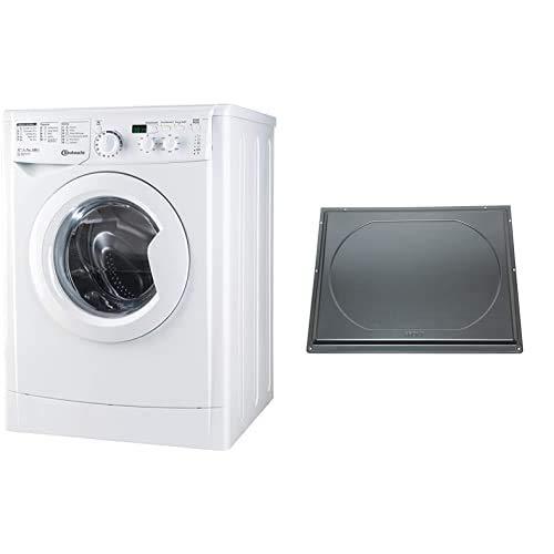Bauknecht WM MT 7 IV Waschmaschine Frontlader unterbaufähig/A+++/ 7 kg Fassungsvermögen/ 1400 UpM/Startzeitvorwahl/Mengenautomatik + Unterbaublech UBS007, Zubehör für den unterbaufähigen Frontlader