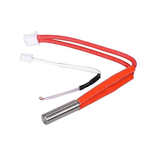 CML I3 Mega Hotend V5 J-head Hotend Kit E3D Bowden Extruder 12/24V Fit For Anycubic I3 Mega/For Chiron 3D Printer Parts VS V6 Hotend (Color : Only 12V Cable)