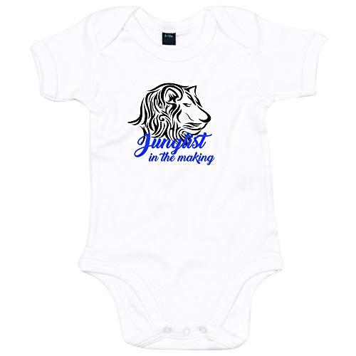 Lo Key Vêtements Junglist dans la création de Babygrow Révéler - Bleu - 6 Mois