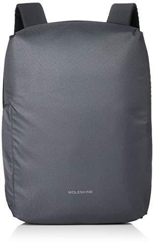 [モレスキン] リュック 15インチPC収納 撥水加工 ビジネスリュック ET9NBBK15 ノートブック バックパック ダークグレー One Size