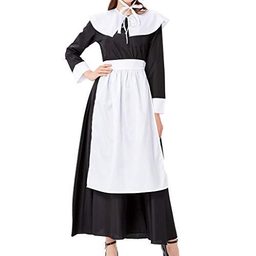 Allence Oktoberfest Damen Kleider Dirndl Kleid Bayerische Bar Maid Party Cosplay Dirndl Traditionelles Minikleid Oktoberfest Karneval KostüM 4 Teilig Set