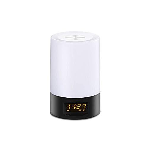 Aobay Nueva LED inteligente creativo de despertador ligero,...