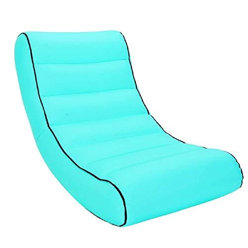 Sacco a pelo per il turismo all'aperto sacco a pelo gonfiabile divano per il campeggio materasso spiaggia pigro sacco letto aria amaca letto campeggio spiaggia sedia
