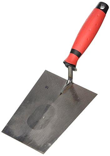 Stubai 4200032K Truelle Tirol avec manche bi matière, Argent/rouge, 180 mm