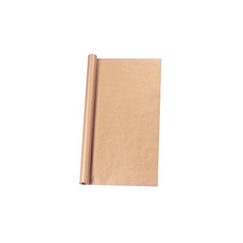 Herlitz 996058 Rotolo di carta da regalo, 5 m x 1 m, colore marrone