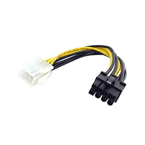 ChenYang, cavo di alimentazione per PCI Express (PCI-E), con connettori maschio a 8 poli e femmina a 6 poli, per espansione scheda grafica