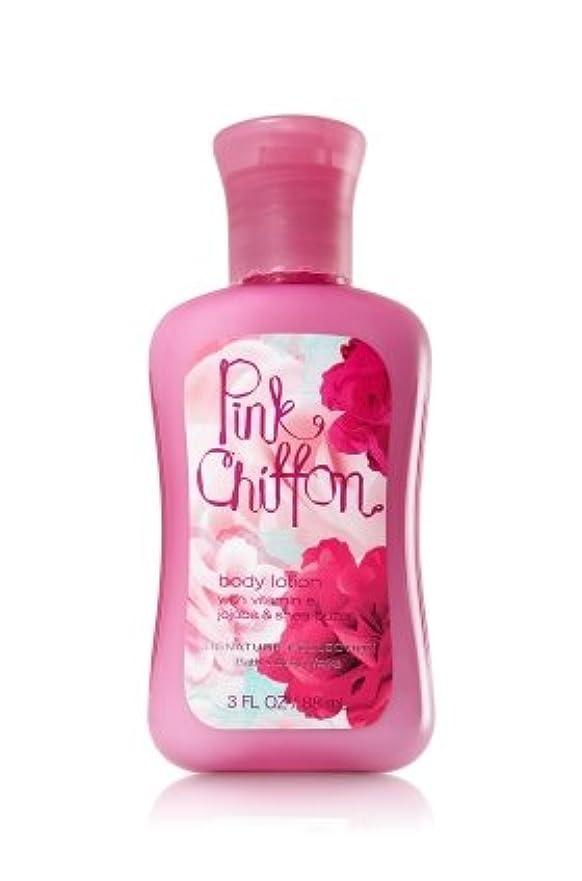 債務者農業ラババス&ボディワークス ピンクシフォン トラベルサイズ ボディローション Pink Chiffon Travel-Size Body Lotion