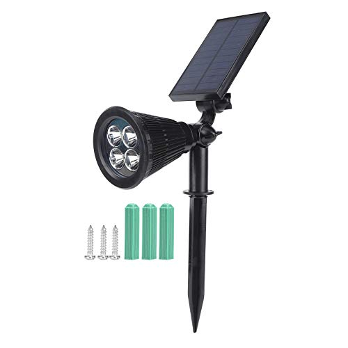 LED Plant Grow Light, Solar Plant Growth Light Water-Proof 16LED Growing Lamp for Outdoor Garden Lawn Yard