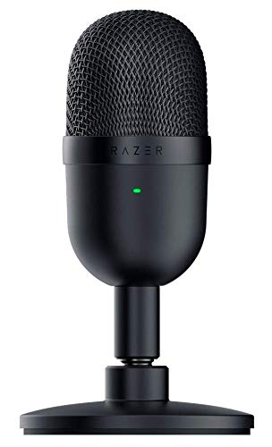 Razer Seiren Mini コンデンサーマイク 超コンパクト設計 ゲーミングマイク USB マイク 配信用 単一指向性 クリアサウンド Black【日本正規代理店保証品】 RZ19-03450100-R3M1