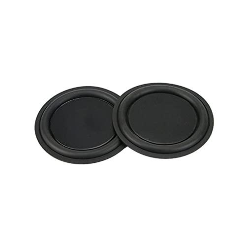 Wnuanjun 2 stücke 9. 5MM Bass- Vibrationsplatte Passiv-Ratator-Woofer- Strahlung passiver Lautsprecher für Subwoofer DIY.