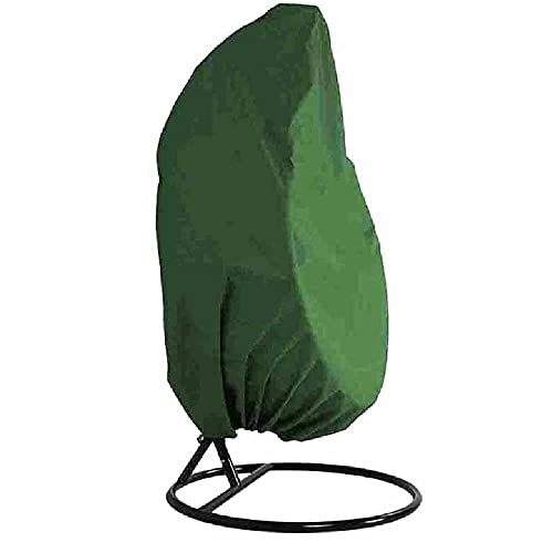 Funda para Silla Colgante TerrazaTela Oxford 210D Impermeable con Forro De PVC, con Bolsa De Almacenamiento 190x115cm / Verde