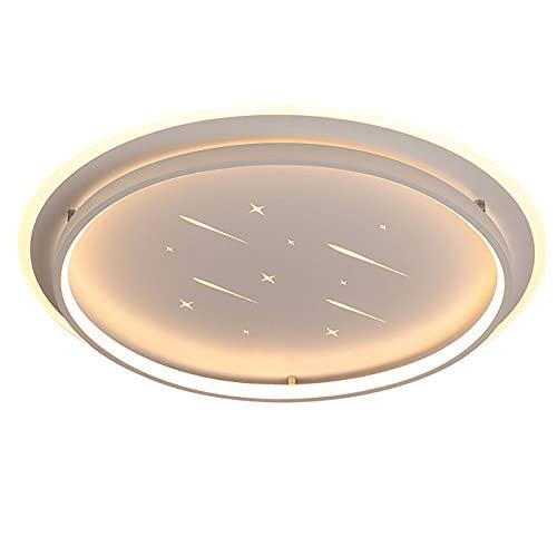Pomety DIRIGIÓ Luz techo, diseño de techo Luces de techo Luz blanca cálida Luz Moderno de techo de descarga para salones y dormitorios y pasillo Elegante diseño curvado Techo Luces de techo Modern Fox