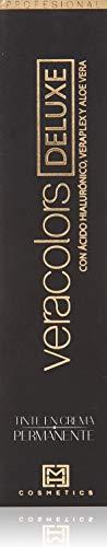 MH Cosmetics VeraColors Deluxe Tinte Capilar Premium Vegano 4/00 Castaño 60 ml