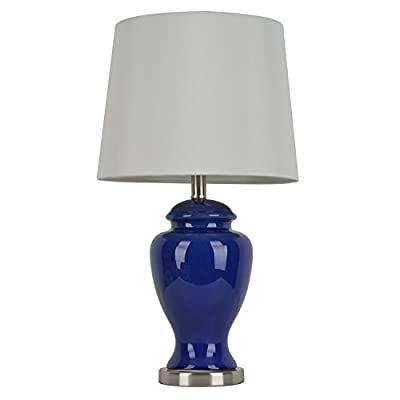 """Décor Therapy TL7911 24"""" Ceramic Table Lamp"""
