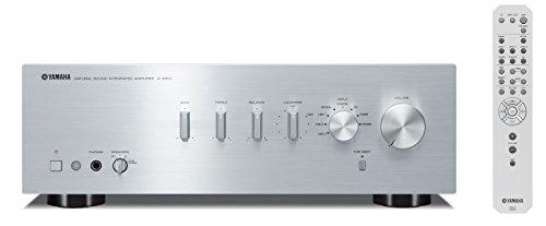 Yamaha AS-301 - Amplificador híbrido, 95W, estéreo, entrada digital, plateado