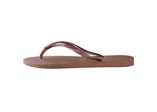 Havaianas Damen Slim Flip Flop, Bronze Nude, 39/40 EU