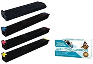 Ink Now Compatible 1 of ea Color Toner Works with Sharp MX 2600N, 3100N, 4100N, 4101N, 5001N Printers