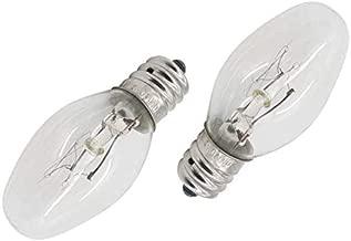 AMI PARTS 22002263 Dryer Drum Light 10w 120v Bulb Replacement Part Compatible with Dryers(2pcs)