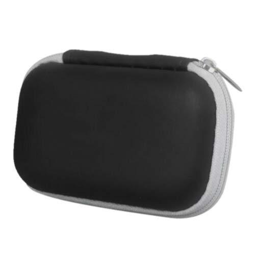 Langguth Aufbewahrungstasche für Pulsoximeter, Wasserabweisende kleine Aufbewahrungstasche für Kopfhörer, Pulsoximeter und vieles mehr ,Schutzhülle, Case, Professionell Kopfhörer Tasche für Airpods