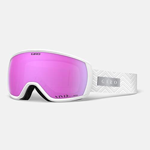 Giro Snow Damen Facet Skibrille, White zag Vivid pink, Einheitsgröße