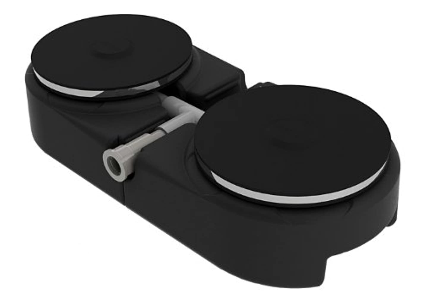 Outdoor Water Solutions ARS0194 Dual Disc 9-Inch Rubber Membrane Diffuser with Base
