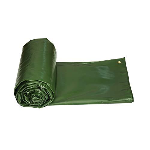JDKC Tarp Heavy Duty Tarpaulin Waterproof Sheet Cover2x3m Ground Sheets for Camping Tarpaulin 3m X 3m Garden Products PVC 550g/㎡ Tarpaulin (Size : 5X6M)