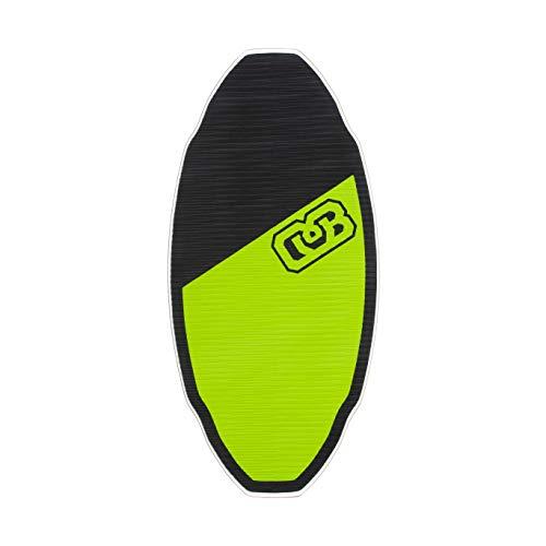 DB Skimboards Flex Proto Skimboard, Small, Green/Black