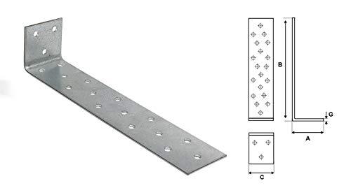 SIMPSON STRONG TIE ABL15014G-B Betonwinkel Schenkellänge 150 x 75 mm Stärke 8 mm