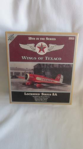 Texaco Vintage Fuel Lockheed Sirius 8A, Brushed Metal