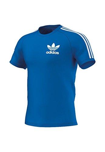 adidas Clfn Tee Camiseta de Manga Corta, Hombre, Azul (Bluebird), M