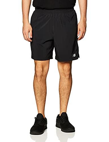 New Balance Men's Accelerate 7 Inch Short, Black , Medium