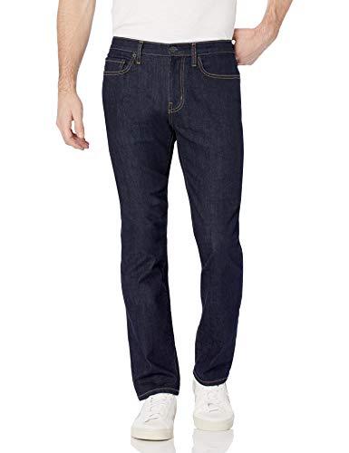 Amazon Essentials Slim-fit High Stretch Jean, Rinsed, 29W / 29L