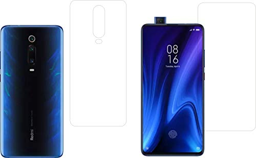 IndiForce Non-BREAKABLE 5D Gorilla Glass Screen Guard for Xiaomi Redmi K20 Pro - Hammer-Tested Screen Protector, Not a Odinary Tempered Glass for Front & Back