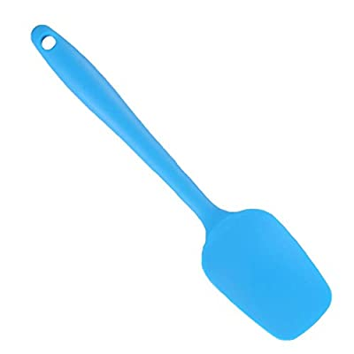 All in one handle small silicone scraper with scoop function cream ice cream spatula cake baking tool
