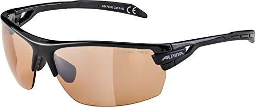 Alpina Unisex Sportbrille Tri-Scray, black, A8479333 - 8