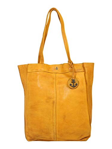 Harbour 2nd Damen Shopper Elbe 1 ocker One Size