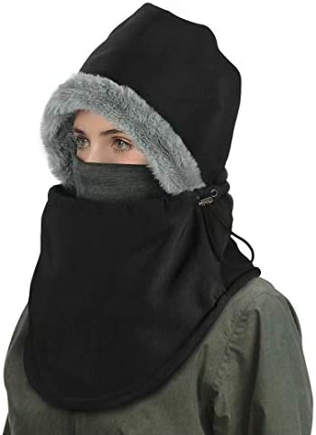 Balaclava Ski Mask Winter Balaclavas Hoodie Bandana for Men Women Waterproof Windproof Heavy product image