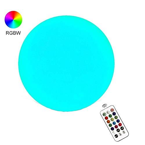 cedarfiny USB Wiederaufladbar Partylicht LED Discokugel Partybeleuchtung, LED Light Ball Aufblasbarer Growing Ball Fernbedienung LED Bunter Flash Beach Ball Für Die Partydekoration Im Schwimmbad